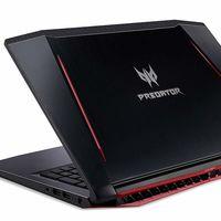 Portátil gaming Acer Predator Helios 300, con Core i7 y GTX1060, por 999 euros en Amazon