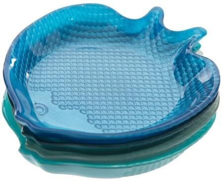 Platos con forma de pez