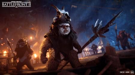 Los Ewoks se enfrentan al Imperio en el nuevo modo de juego temporal de Star Wars: Battlefront II