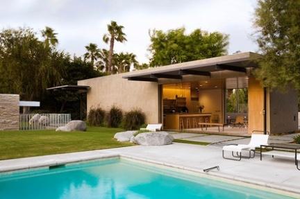 Kaufmann House: vivienda de lujo en Palm Springs, California