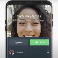 WhatsApp mejora sus llamadas en grupo: ahora puedes unirte cuando quieras