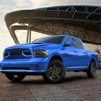Ram 1500 Hydro Blue Sport, la última edición especial que admirarás…este año.