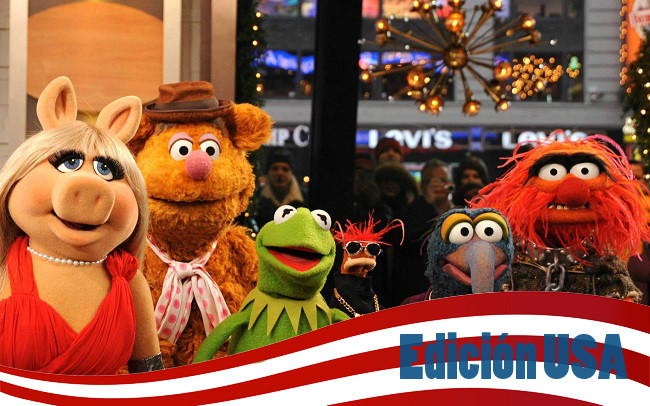 Edicion USA con 'The Muppets'