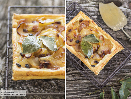 Tartitas de manzana y limón con aroma de laurel: receta fácil para un postre especial