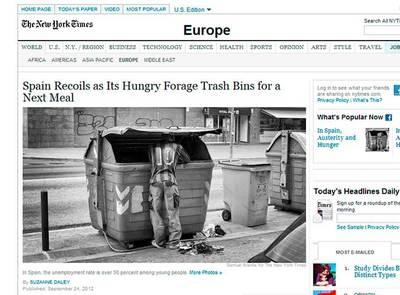 Samuel Aranda para The New York Times: una mirada a la crisis y al hambre en España