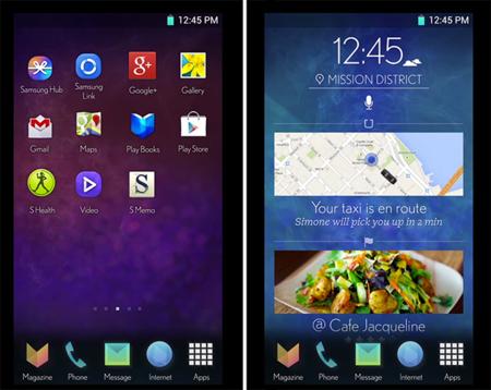 Un alternativo y reconocible diseño para TouchWiz se deja ver en vídeo