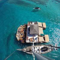 Cloud 9, el bar restaurante de ensueño perdido en el Océano Índico
