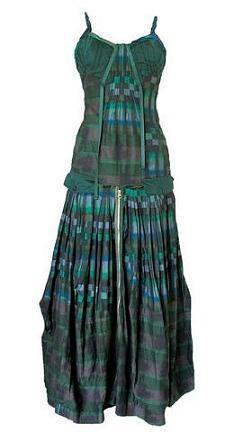 Un vestido contra el cambio climático