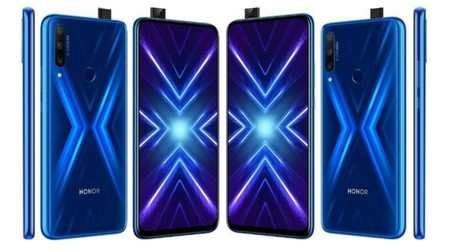 Honor 9x en azul