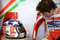 """Arai RX-7 GP """"Easy Rider"""": serie limitada del casco usado por Nicky Hayden para el Reino Unido"""