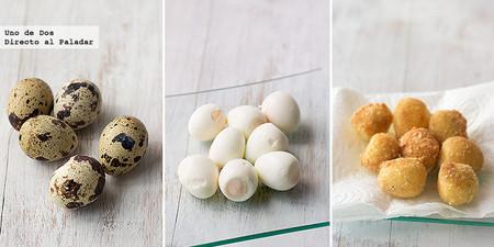 Marvelous Huevos De Codorniz Con Almendra. Receta De Navidad
