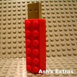 Lápiz USB de Lego