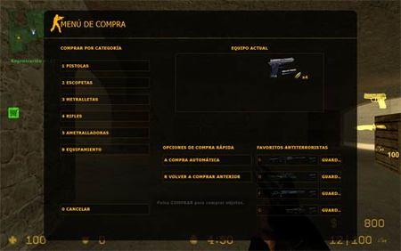 Truco 'Counter-Strike: Source': compra rápida de armas y equipamiento