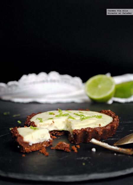 Tartaletas De Lima Y Queso Crema