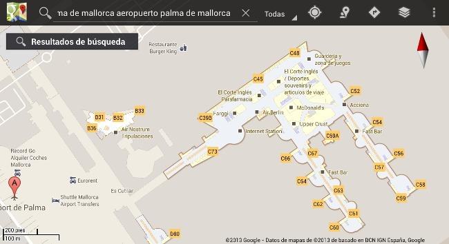 Los mapas interiores de Google Maps llegan a España