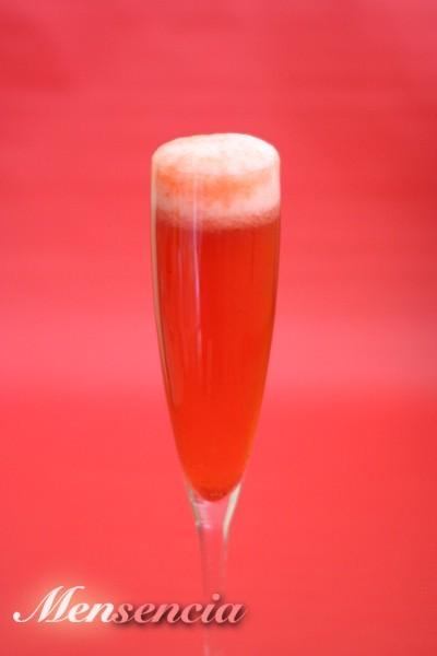 Champán de fresas