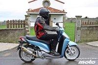 Honda Scoopy SH300i, prueba (conducción en ciudad y carretera)