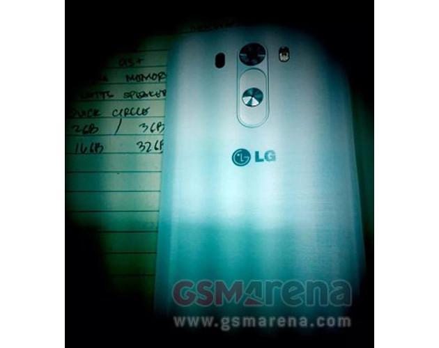 LG G3 en una primera imagen, los botones de nuevo a la espalda