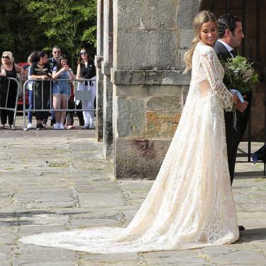 Así es el vídeo donde Yolancris nos enseña el making of del vestido de novia de María Pombo