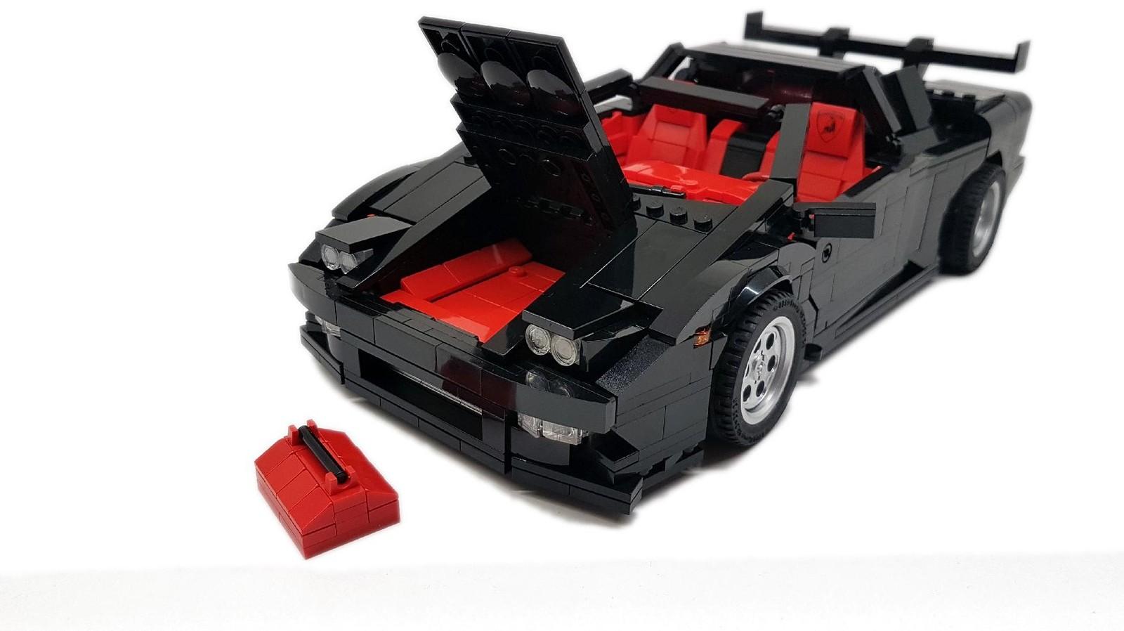 Foto de Lamborghini Diablo GT Lego Ideas (11/18)