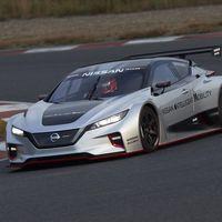 El nuevo Nissan Leaf Nismo RC es un coche eléctrico de carreras con el doble de potencia que su predecesor