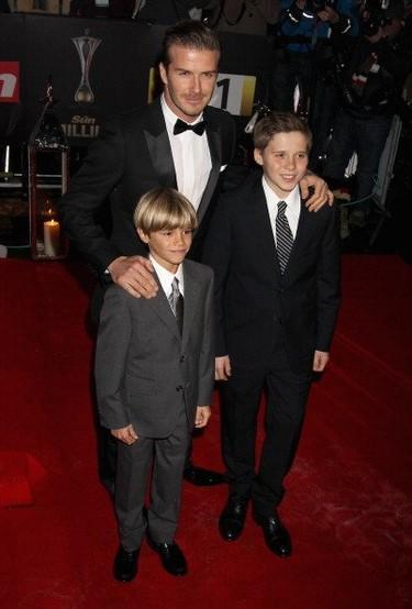 El estilo de Brooklyn y Romeo, los hijos de David Beckham