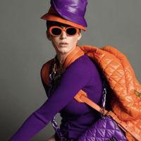 Es Audrey Hepburn, no es Katy Perry posando para la nueva campaña Moschino con marcado sabor a Courrèges