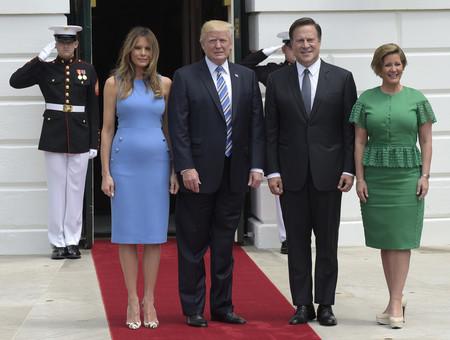 Melania Trump Azul