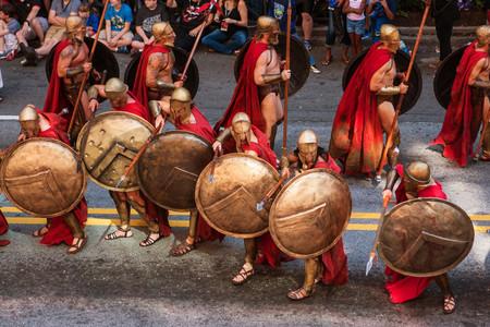 Ejercito Espartano: los primeros que se preocuparon del adiestramiento físico de sus tropas