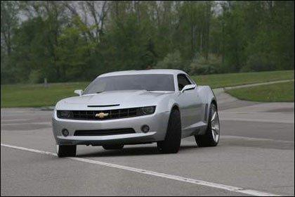 Review del Chevrolet Camaro Concept