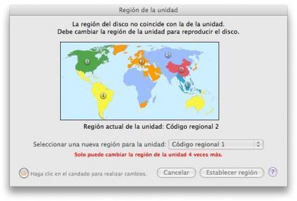 regiones de dvd
