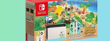 La Nintendo Switch Edición Especial Animal Crossing roza su precio mínimo en Amazon: la tienes por 369 euros con envío gratis