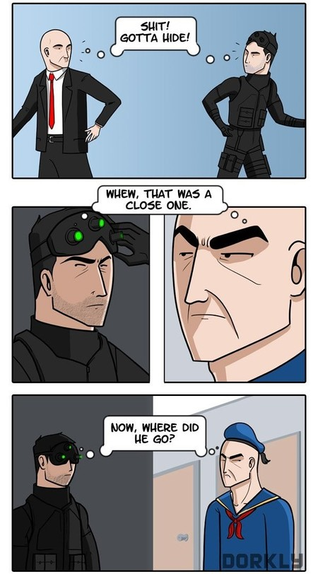 Agente 47 vs. Sam Fisher