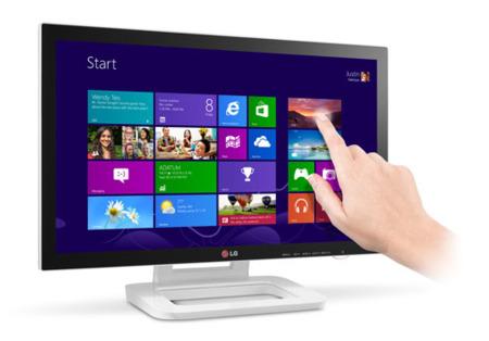 LG Touch 10: hasta diez dedos sobre el monitor