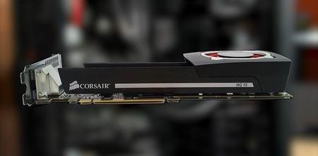Corsair lleva enfriamiento líquido a tarjetas de video con bracket Hydro Series HG10