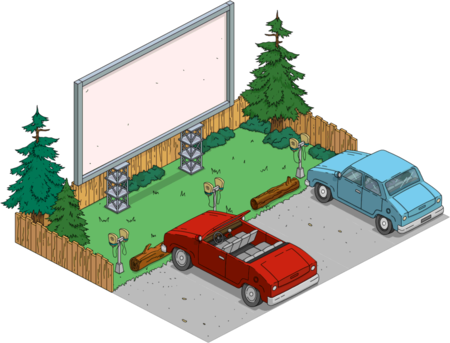 Tapped Out Drive In Theater