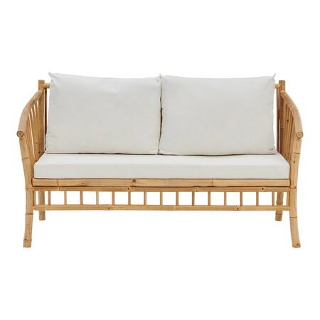 Sofá de madera de bambú