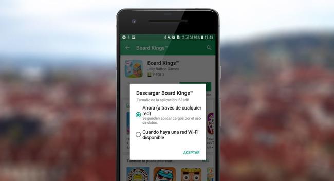 Cómo configurar Google Play para que solo descargue apps con Wi-Fi