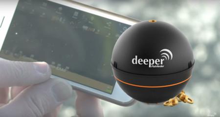 Tu smartphone puede ayudarte a pescar con Deeper, un pequeño sónar portátil