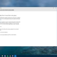 De ahora en adelante solo las actualizaciones importantes de Windows 10 serán detalladas