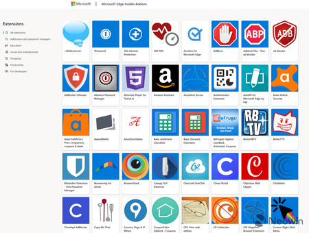 Microsoft Store Extensiones Edge Chromium
