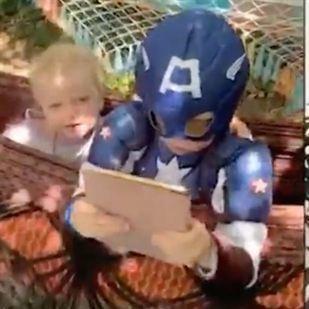 El emotivo mesaje de Chris Evans y Chris Hemsworth al pequeño que salvó a su hermana, Bridger
