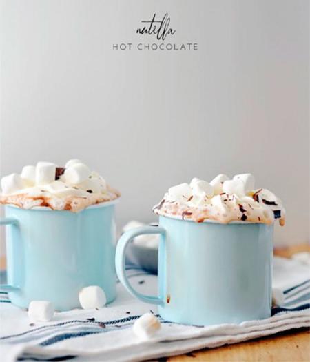 Para este frío... Un rico chocolate caliente original y rápido de elaborar