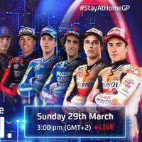 Las motos virtuales de MotoGP también rugirán en Jerez mientras que Moto2 y Moto3 se suman al 'simracing'
