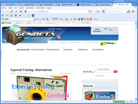 Tu Firefox con la pinta de Google Chrome con Chrome Package