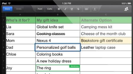 La aplicación de Google Drive para iOS y Android se actualiza añadiendo edición de hojas de cálculo