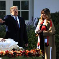 Melania Trump o cómo arrebatar todo el protagonismo gracias a un abrigo Dior