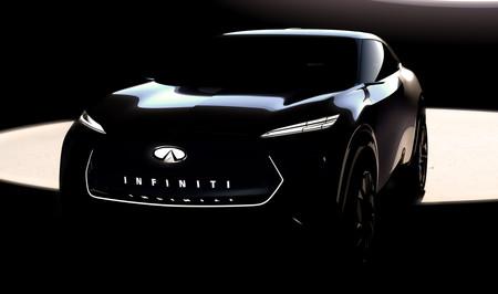 Infiniti presentará en enero su primer SUV eléctrico: así se insinúa antes del Salón de Detroit 2019