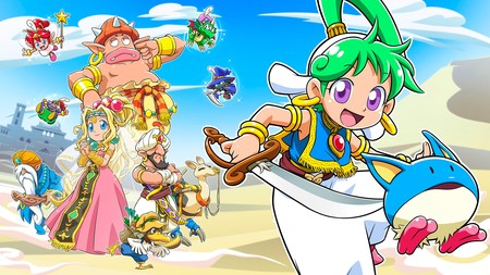 Wonder Boy está de vuelta con Asha in Monster World, un nuevo juego dirigido por el creador original de la saga (actualizado)