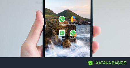 Cómo usar dos cuentas de WhatsApp en el mismo teléfono